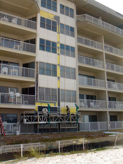 Coastline engineering construction inc projects for Balcony repairs