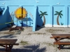 Stucco Wall Art and Panama City Beach Deck Coatings